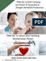 2. Penerapan PMK 11 2017 Ttg Keselamatan Pasien Di Fktp