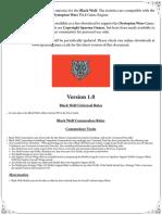 Black Wolf Dystopian Wars version 2.5