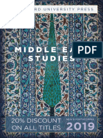 Middle East Studies 2019