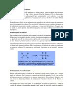 Obtención de Polímeros