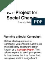 ICT Social Change (Concept Paper Activity)