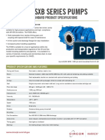 Warren FSXB Series Spec Sheet