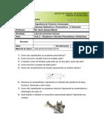 Aula 2 - Atuadores e Válvulas Pneumáticas e Hidráulicas- Lista de Exercícios