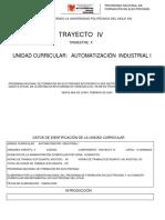 Programa de Automatizacion Industrial I
