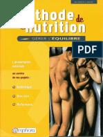 Méthode de nutrition - Gérer l'équilibre.pdf