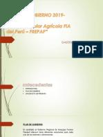 Plan de Gobierno 2019-2022
