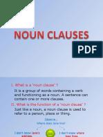 Presentation Noun Clauses-Slide Show