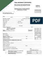 Application for Registration