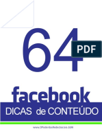 ebook 64 dicas de conteudos para facebook