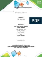 Informe Prácticas de Laboratorio Balance Masico