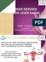 Presentasi Kejaksaan Kanker Servik