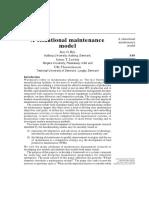 a situational maintenance model