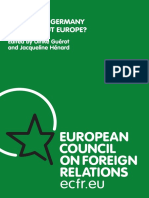 What does GERMANY think about europe.pdf
