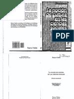 Cuche, D. - Genesis Social de La Palabra y de La Idea de Cultura [La Noción de Cultura en Las Ciencias Sociales]