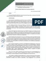 Resolucion Consejo Directivo 139 2018 Resuelve Aprobar Formatos Del Proceso de Cese de Actividades