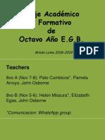 Viaje Mindo Loma 8vo Presentation Students