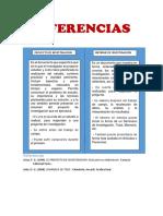 Diferencias Entre Proyencto e Informe de Investigacion