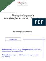 3_Fisiologia y Metodologías de Estudio Plaquetario