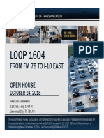 TxDOT presentation on Loop 1604 project