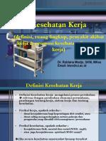 Promosi Dan Pelayanan Kesehatan Di Tempat Kerja Ppt
