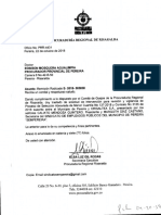 Oficio Procuraduría