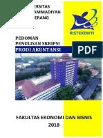 PEDOMAN PENULISAN SKRIPSI PRODI AKUNTANSI UNTUK WEB 2018.pdf