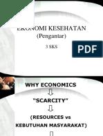Pengantar Ekonomi kesehatan