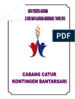 Biodata Atlit Dan Official
