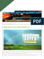 2012 Fim Dos Tempos_ Canaã Nunca Foi a Terra Prometida