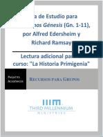 Guía de Estudio, Exploremos Génesis, Gén. 1-11