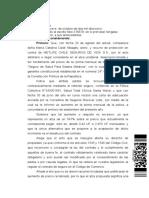 Sentencia CA Santiago - Acoge Proteccion Seguro Medico