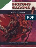 Player's Handbook Races - Dragonborn