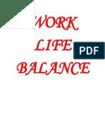 WORK LIFE BALANCE.docx