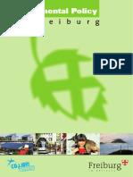 Greencity Environmental Policy-FREIBURG