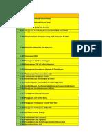 Contoh Daftar Lampiran