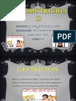 PSICOMOTRICIDAD disertacion