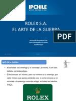 Arte de La Guerra Rolex