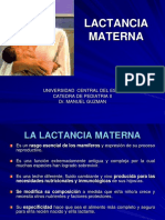 Clase de Lactancia Materna
