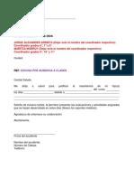 Formatos Excusas Estudiantes Bachillerato 2018 (1)