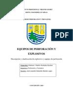 Informe equipos perforacion y eplosivos.docx