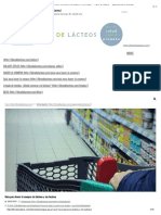 Guía Para Hacer La Compra Sin Lácteos y Sin Lactosa – Libre de Lácteos – Alimentación Saludable