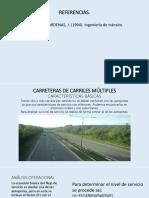 Carreteras de Carriles Múltiples v0