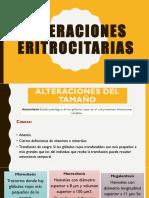Alteraciones-Eritrocitarias