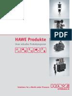 Hawe Katalog German