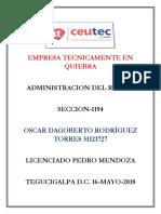 OscarRodriguez 31121727 Tarea-03 Empresa Tecnicamente en Quiebra
