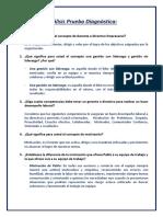 Cuestionario Diagnóstico Sobre El Video Desarrolle La Confianza.