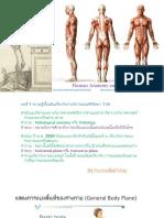 Anatomy ราม 2559 & ใบประกอบ 2558-9