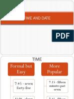 Date Numeric