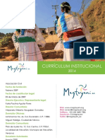 Curriculum Magtayani 2014
