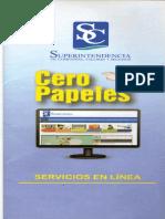 Cero Papeles Servicios en Linea SC Folleto 1